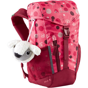 VAUDE Ayla 6 Backpack Kids, bright pink/cranberry
